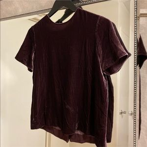 FLASH SALE TODAY ONLY! Vince Velvet Top